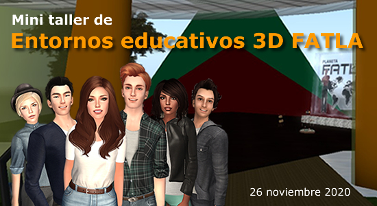 Mini taller entornos educativos 3D